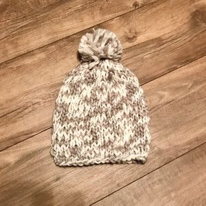 NWOT - Cotton On Pom Crochet Beanie